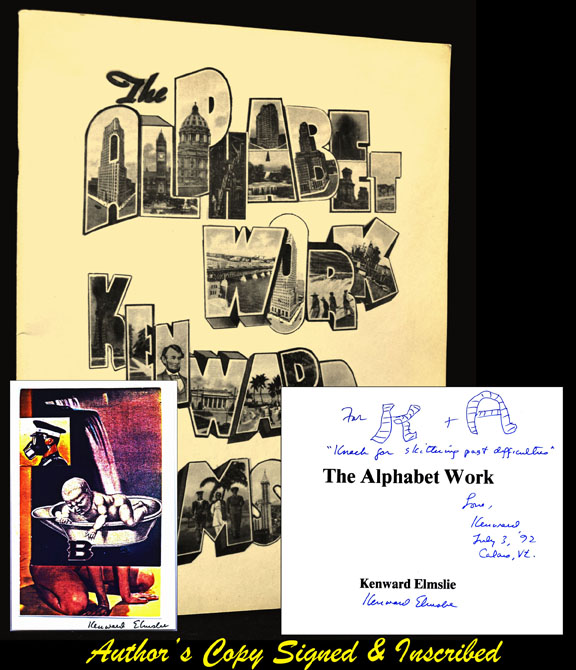 The Alphabet Work. Kenward Elmslie