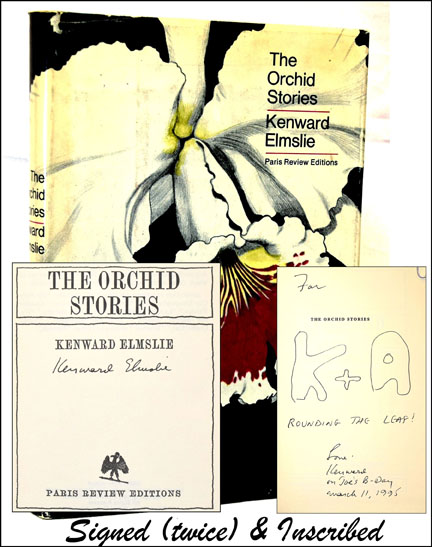 The Orchid Stories. Kenward Elmslie