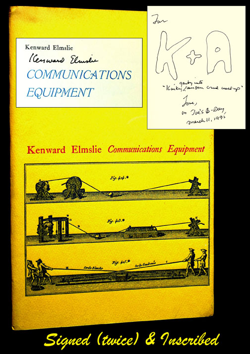 Communications Equipment. Kenward Elmslie