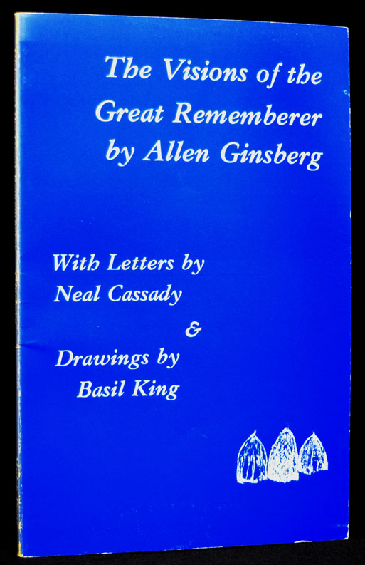 The Visions of the Great Rememberer. Allen Ginsberg