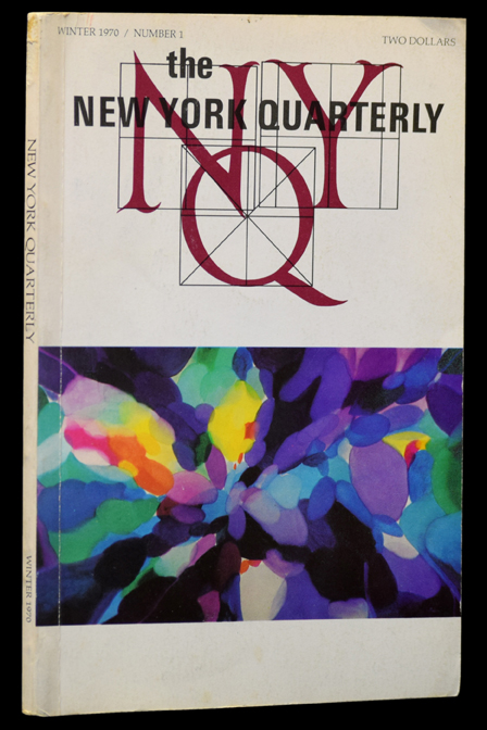 The New York Quarterly, Number 1, Winter 1970. John Ashbery, W. H. Auden, Alice Baber, Paul...