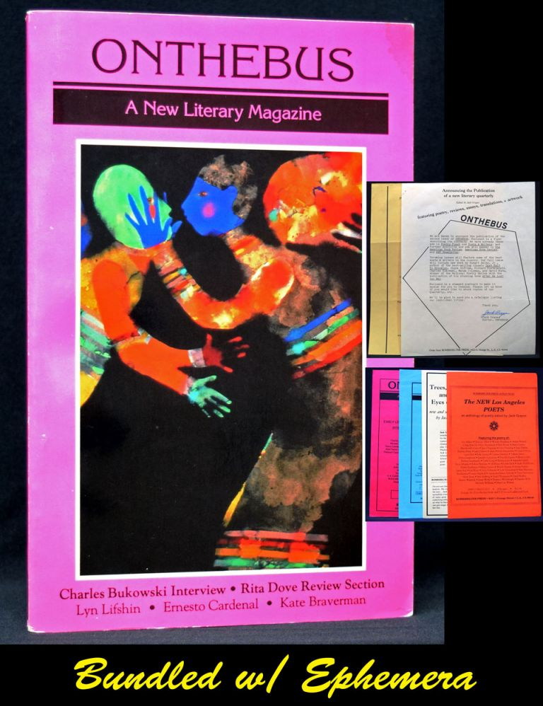 On the Bus: A New Literary Magazine, Fifth Issue, Vol. II, No. 1, Spring 1990 with: Early...