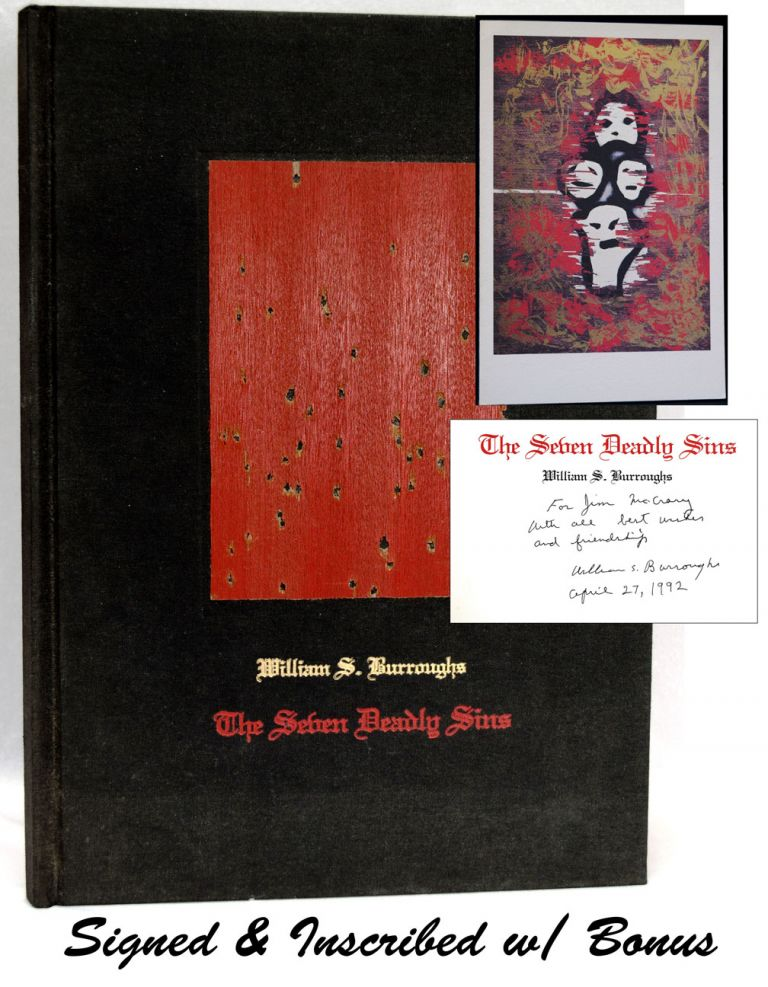 The Seven Deadly Sins with: Related Ephemera. William S. Burroughs.