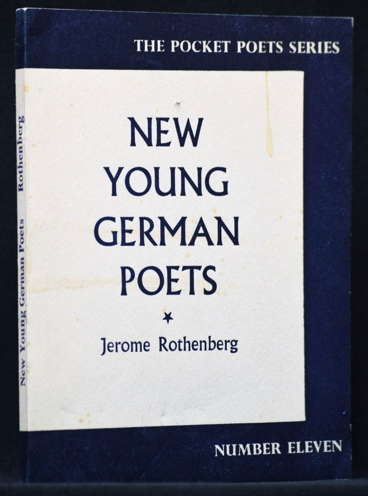 New Young German Poets (Edited by Jerome Rothenberg). Ingreborg Bachmann, Klaus Bremer, Paul...