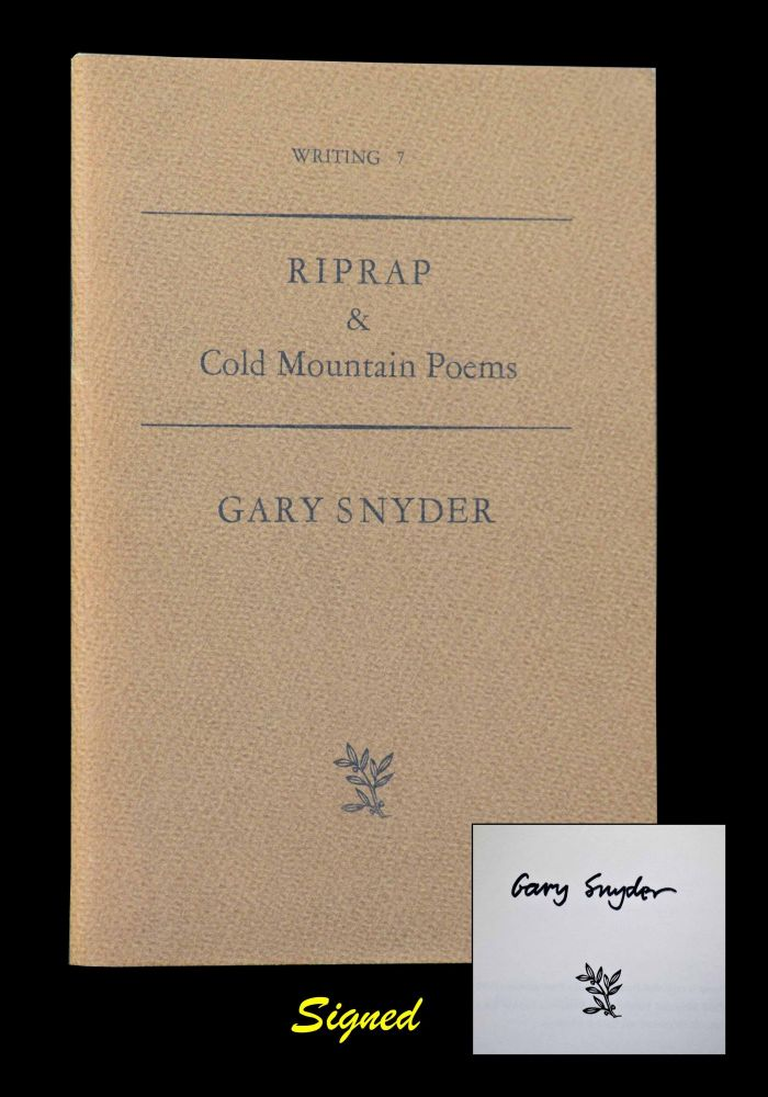 Riprap & Cold Mountain Poems (Writing 7). Gary Snyder.