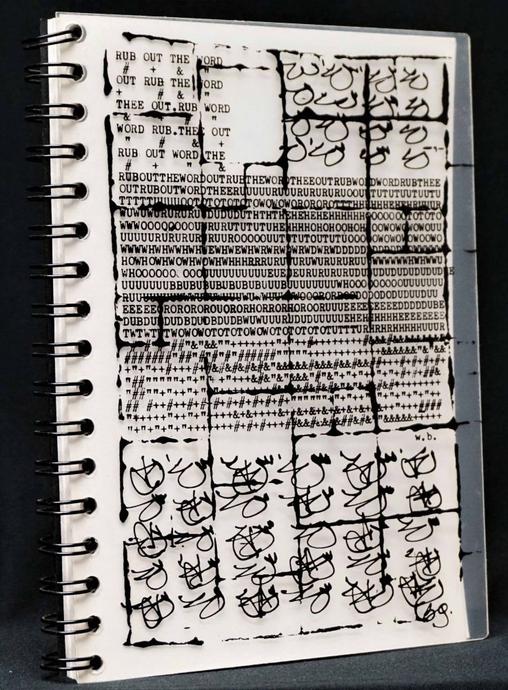 Rub Out The Word (Blank Notebook). William S. Burroughs, Brion Gysin.