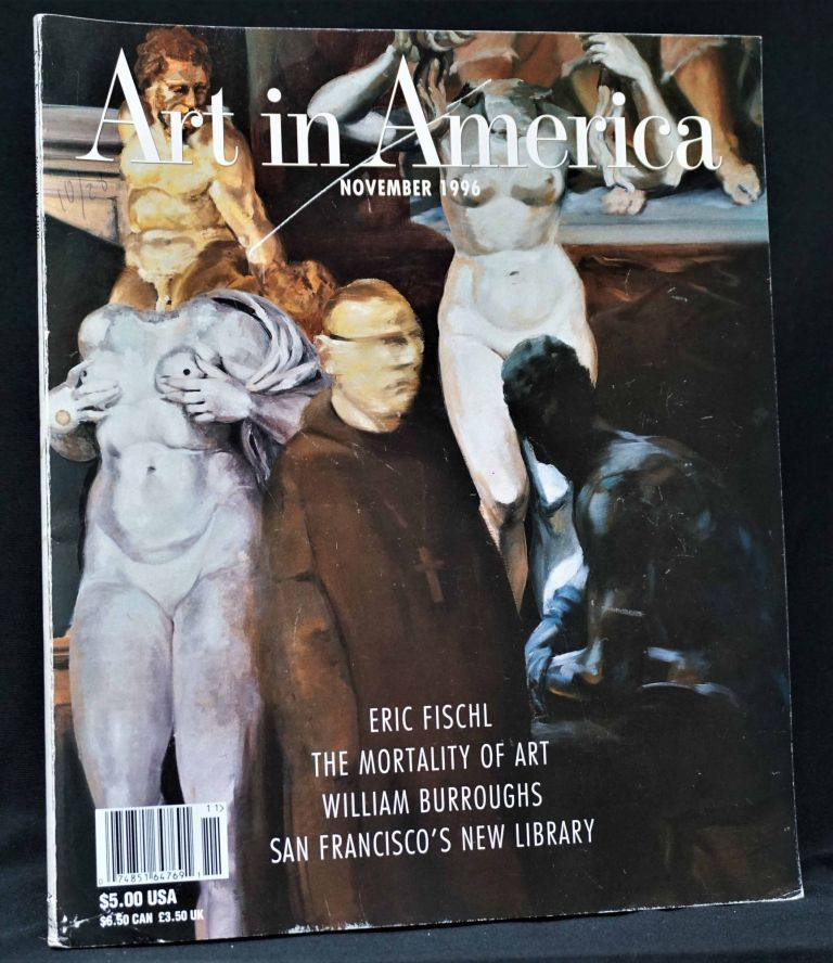 Art in America, Vol. 84, No. 11, November 1996. William S. Burroughs