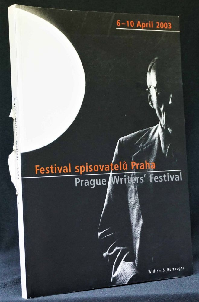 Prague Writers' Festival (Festival spisovatelu Praha) Program. Various, Paul Bowles, William S. Burroughs, Jack Kerouac.