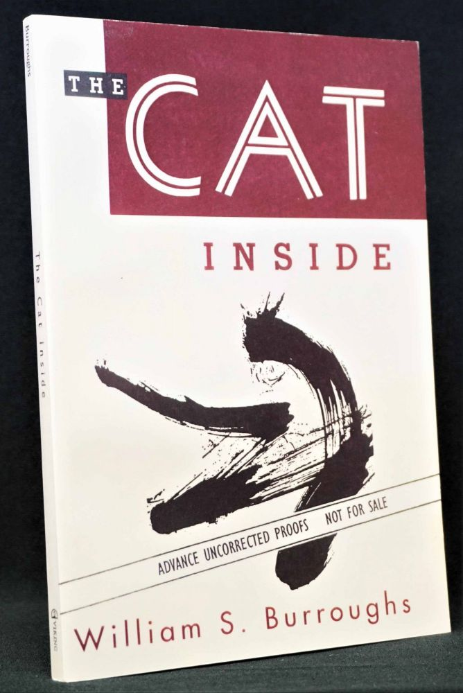 The Cat Inside (Advance Uncorrected Proofs). William S. Burroughs