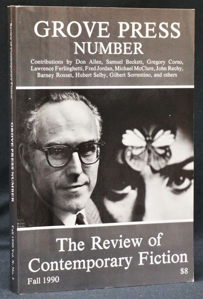 The Review of Contemporary Fiction, Vol. 10, No. 3, Fall 1990. Samuel Beckett, Gregory Corso, Lawrence Ferlinghetti, Michael McClure, Henry Miller, Barney Rosset, Hubert Selby Jr.