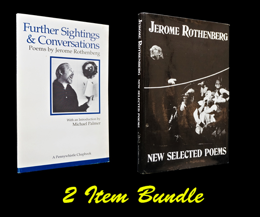 New Selected Poems 1970-1985 with: Further Sightings & Conversations. Jerome Rothenberg.