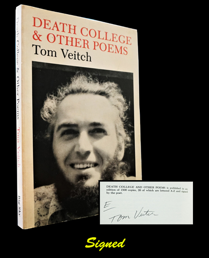 Death College & Other Poems (1964-1974). Tom Veitch