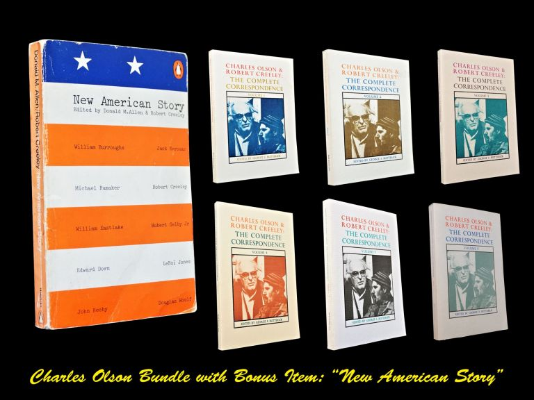 Charles Olson & Robert Creeley: The Complete Correspondence, Volumes 1-5 with: Two Bonus Items....