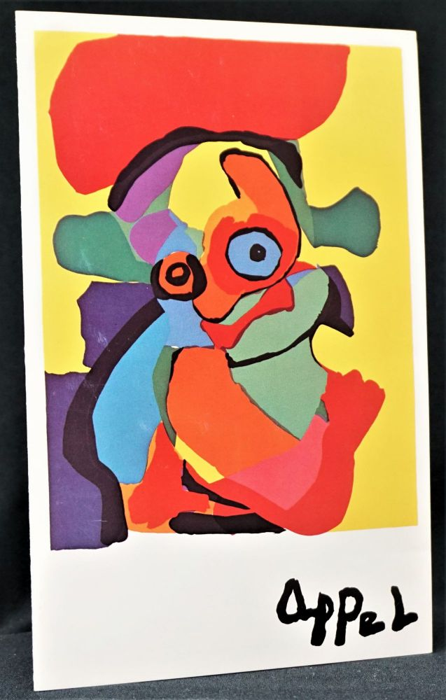 Invitation to Preview Exhibition. Karel Appel.