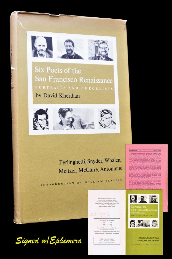 Six Poets of the San Francisco Renaissance: Portraits and Checklists with: Prospectus &...