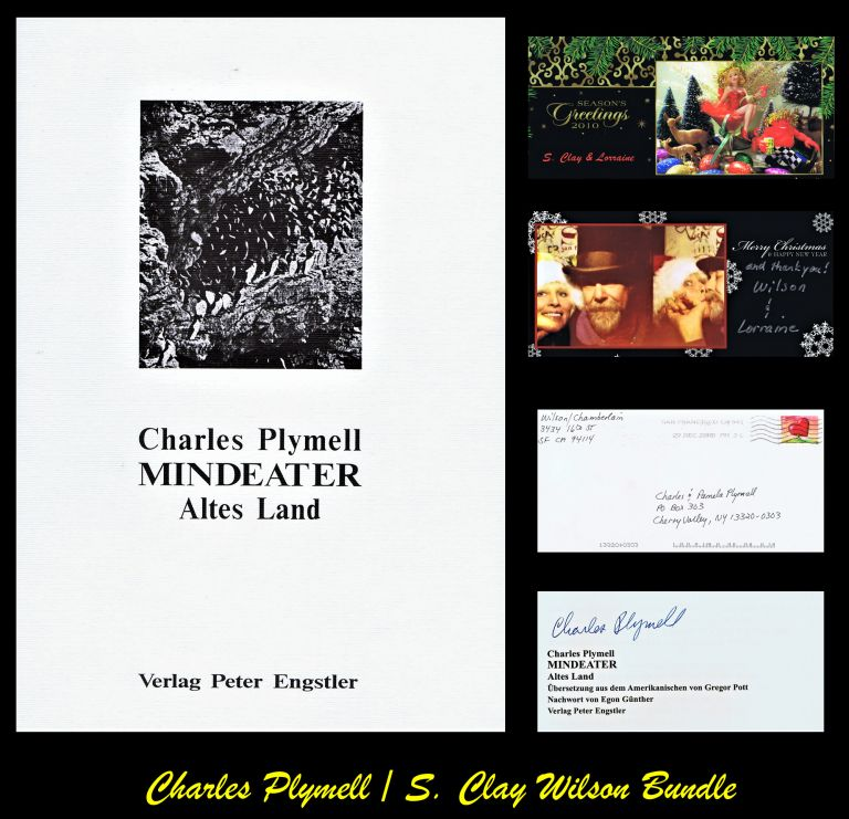 Mindeater: Altes Land with: Ephemera, with: Holiday Greeting from S. Clay Wilson. Charles...