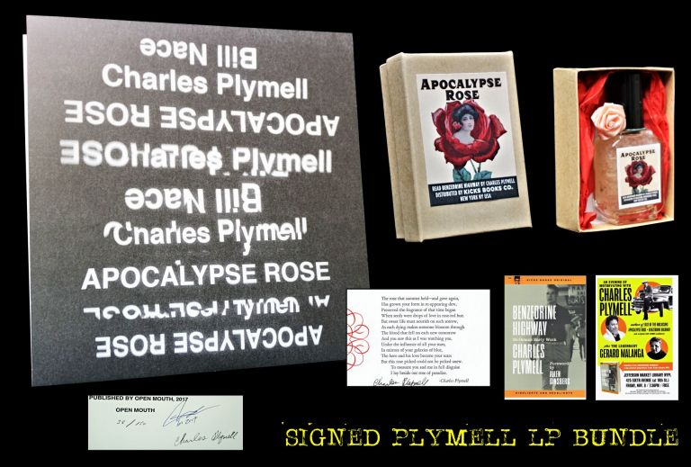 Apocalypse Rose (Limited Signed LP) with: Ephemera. Charles Plymell, Bill Nace