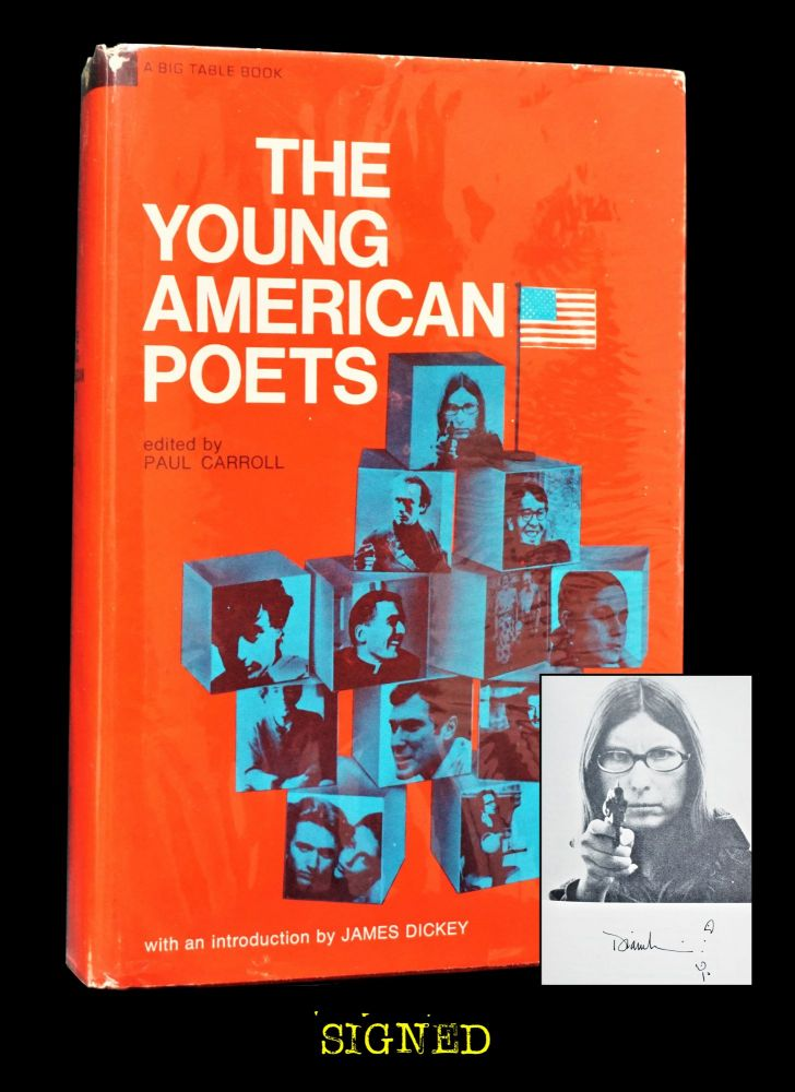 The Young American Poets. Paul Carroll, Ted Berrigan, Tom Clark, Clark Coolidge, James Dickey,...