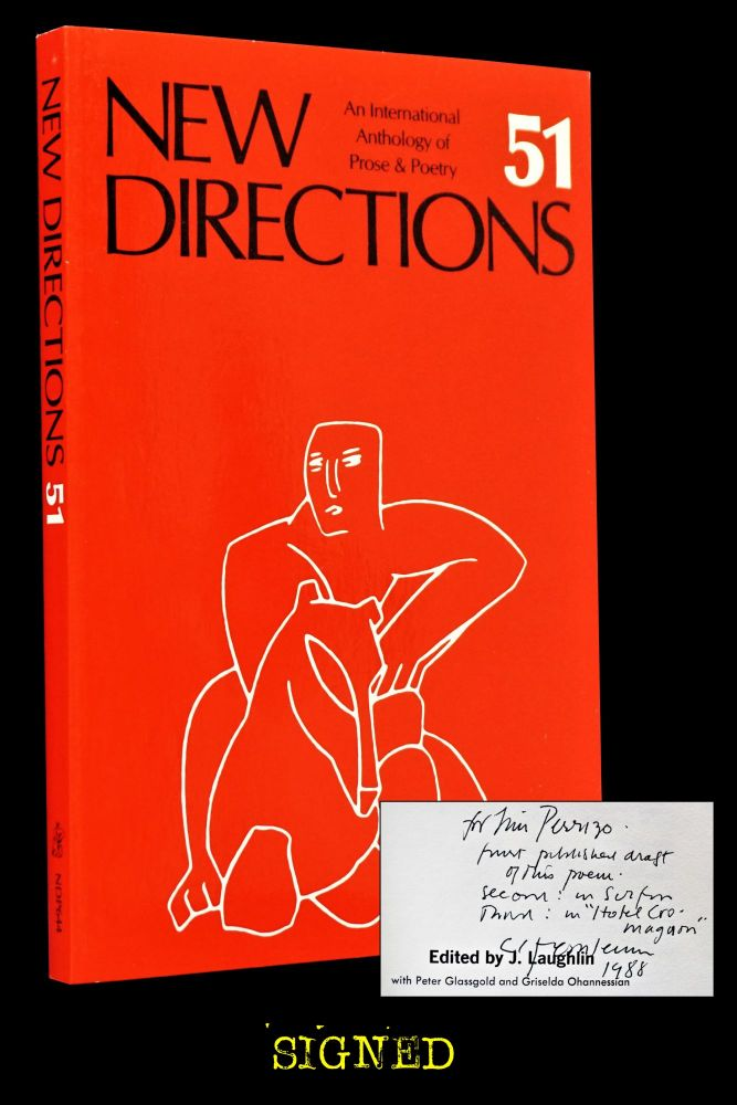 New Directions: An International Anthology of Prose & Poetry No. 51. James Laughlin, Andre...