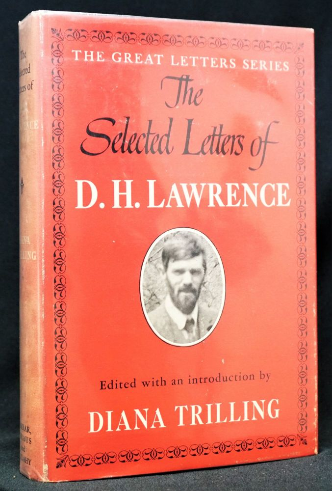 The Selected Letters of D.H. Lawrence. D. H. Lawrence.