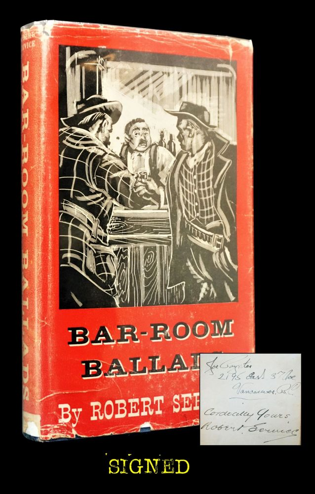 Bar-Room Ballads. Robert W. Service