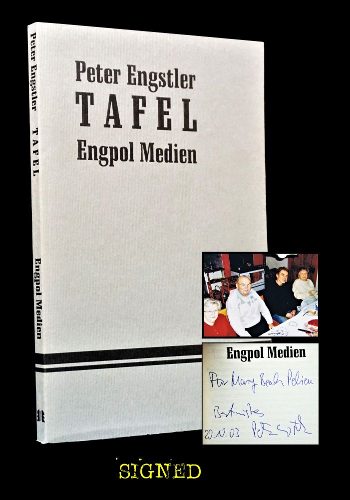 Tafel with: Ephemera. Mary Beach, Claude Pelieu, Charles Plymell