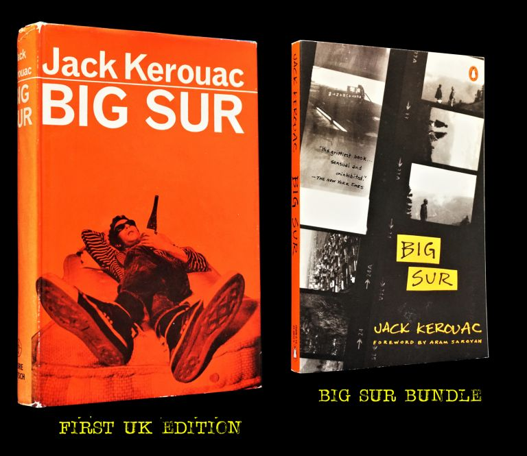 Big Sur (First British Edition + Bonus Reading Copy). Jack Kerouac