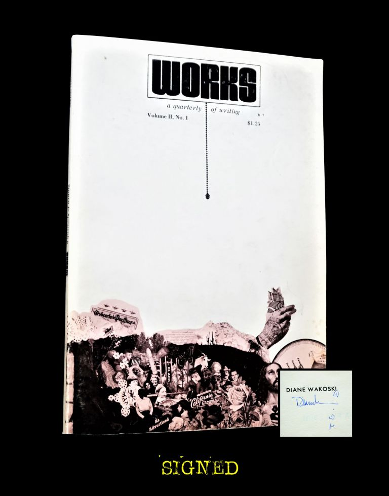 Works: a quarterly of writing Vol. II No. I (Spring 1969). Douglas Blazek, Russell Banks, Robert...