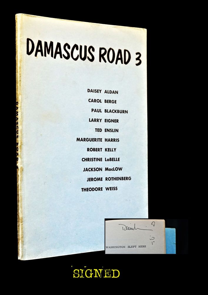 Damascus Road 3. Charles Shahoud Hanna, William L. Kinter, Paul Blackburn, Robert Kelly, Jackson Mac Low, Jerome Rothenberg, Diane Wakoski.
