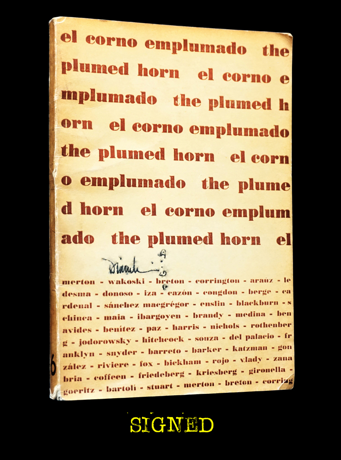 El Corno Emplumado/ The Plumed Horn No. 6 (April 1963). Sergio Mondragon, Margaret Randall, Carol...