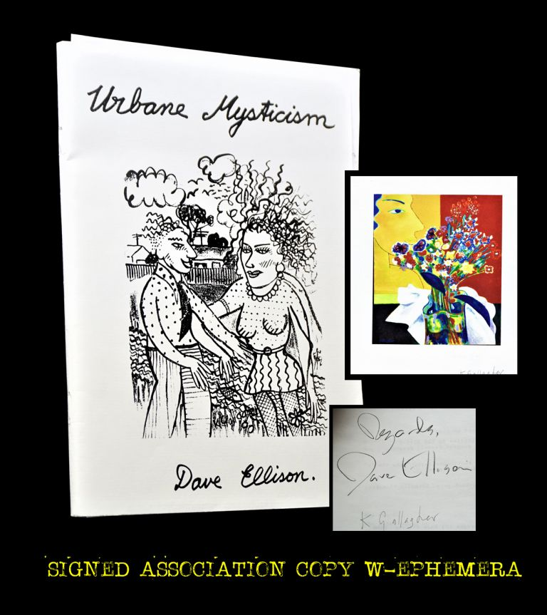 Urbane Mysticism with: Portfolio of Signed Artwork Reproductions. Dave Ellison, Karl Gallagher