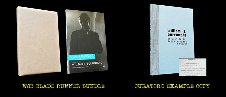 Blade Runner: A Movie (40th Anniversary Edition). William S. Burroughs