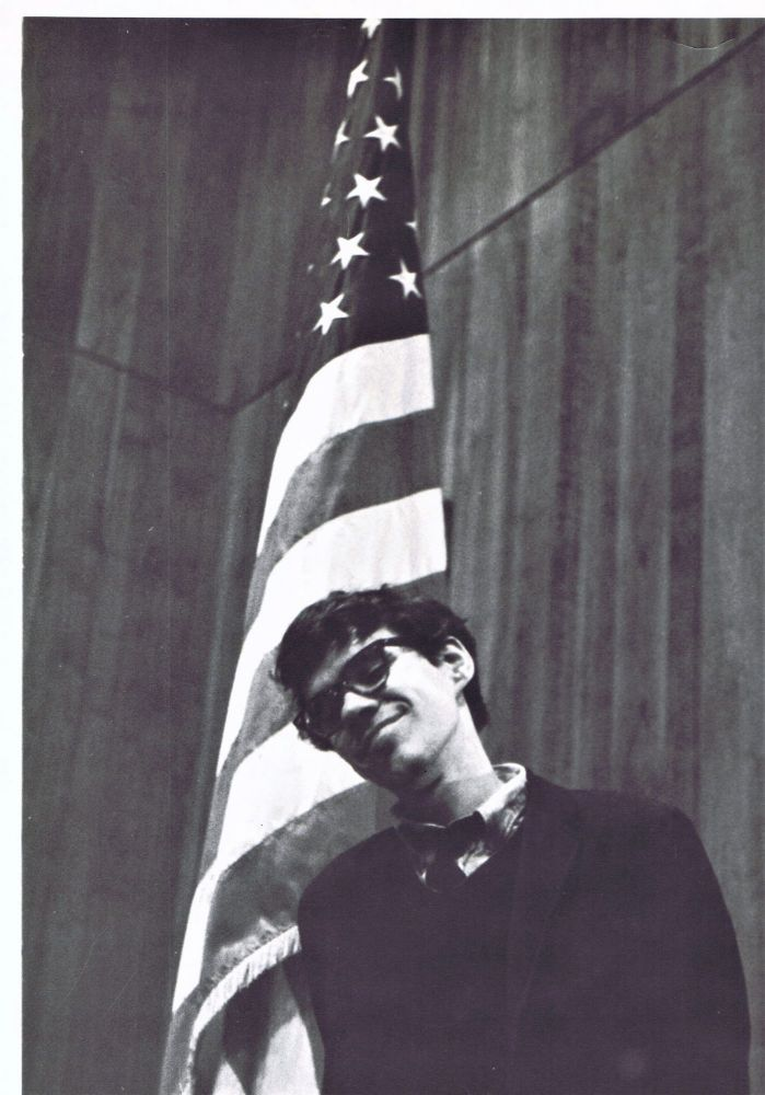 Large Photograph-Poster of Joe Brainard. Joe Brainard