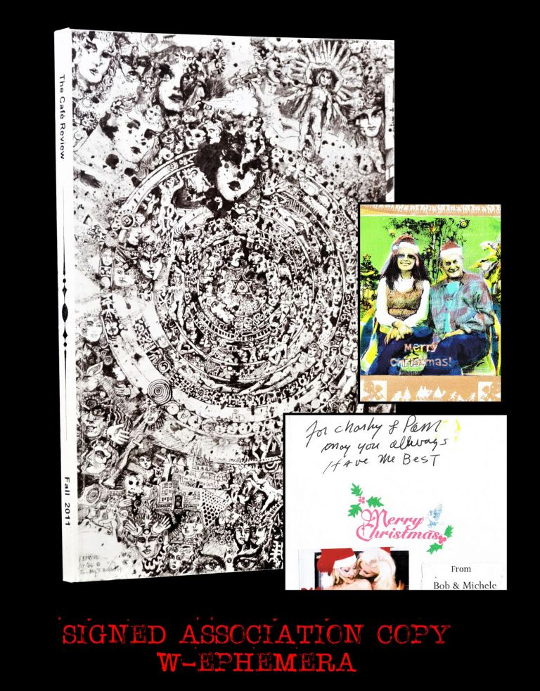 The Cafe Review Vol. 22 (Fall 2011) with: Christmas Greeting Card from Robert & Michele Branaman...