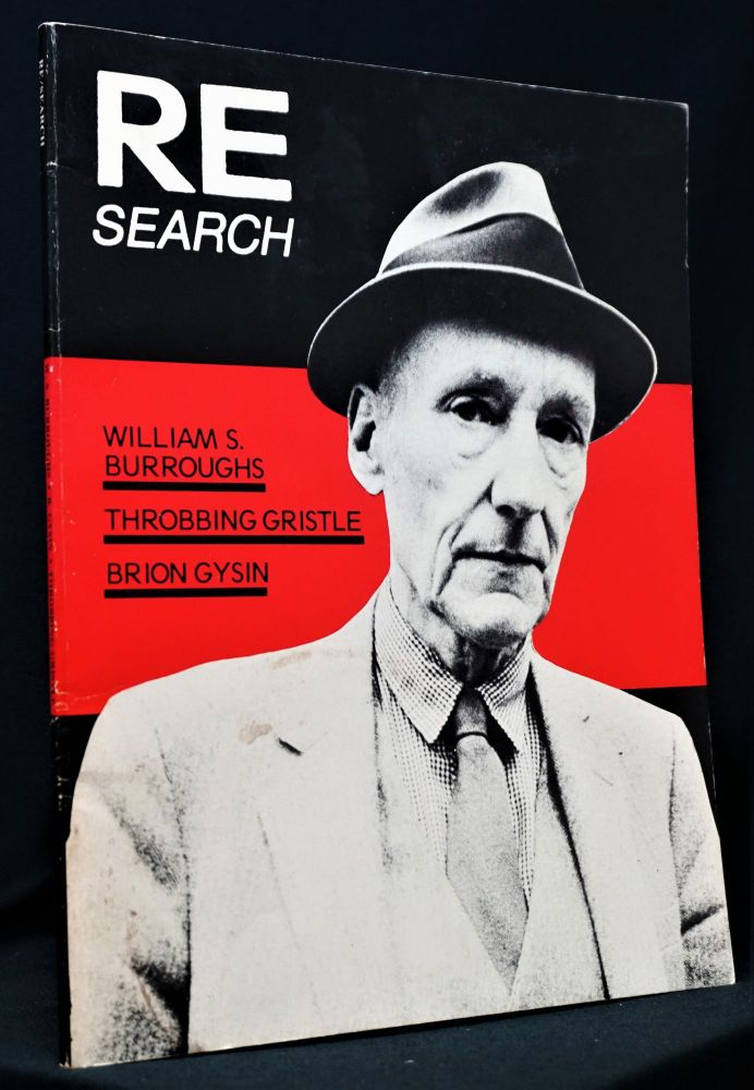 RE/SEARCH No. 4/5. William S. Burroughs, Brion Gysin