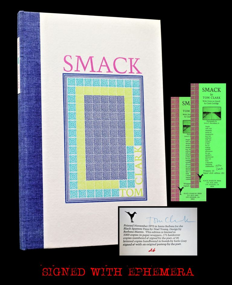 Smack with: Ephemera. Tom Clark