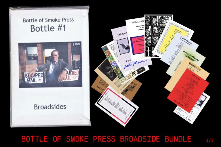 Bottle of Smoke Press: Bottle #1. Gary Aposhian, Charles Bukowski, Neeli Cherkovski, Dan Fante,...