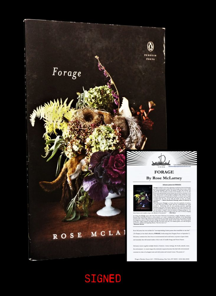Forage with: Ephemera. Rose McLarney