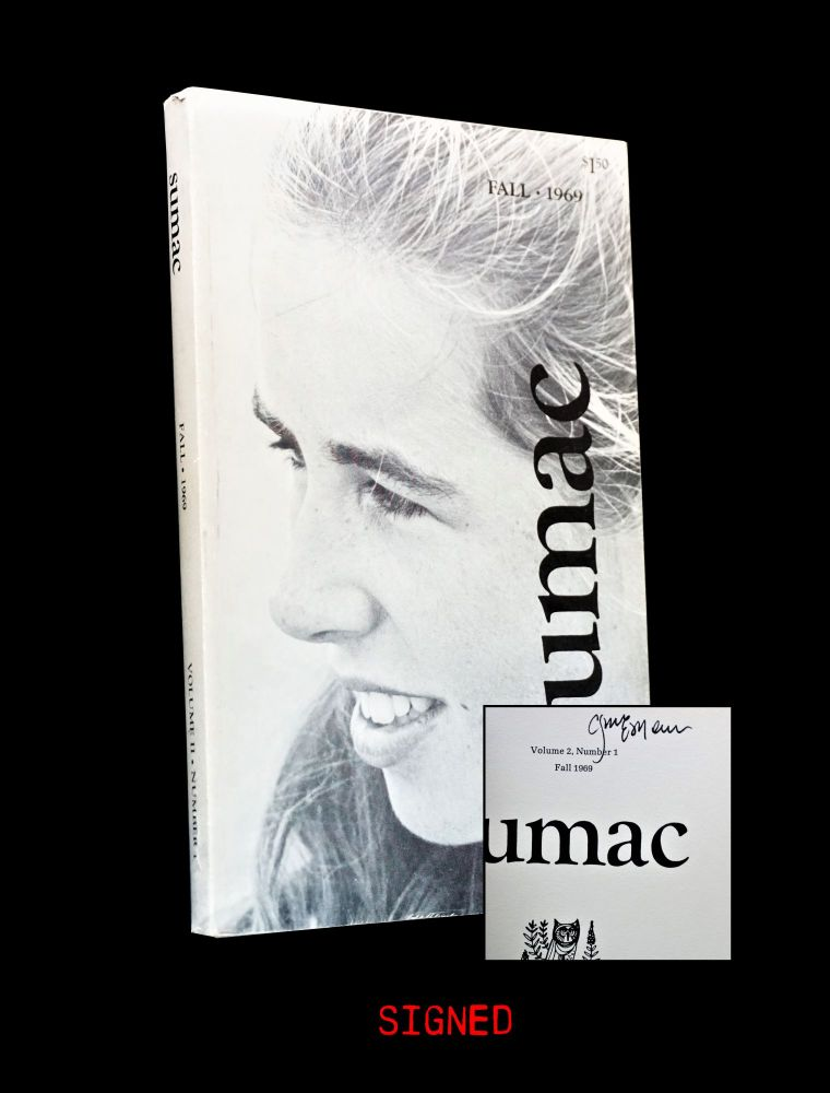 Sumac Vol. II No. 1 (Fall 1969). Clayton Eshleman, Paul Hannigan, Jim Harrison, Denise Levertov,...