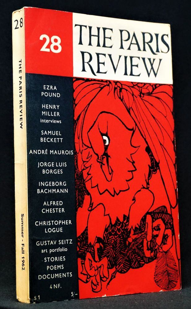 The Paris Review Vol. 7 No. 28 (Summer - Fall 1962). George Plimpton, Samuel Beckett, Jorge Luis...