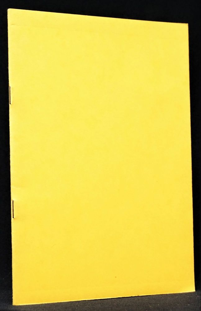 The No Book. Tom Clark