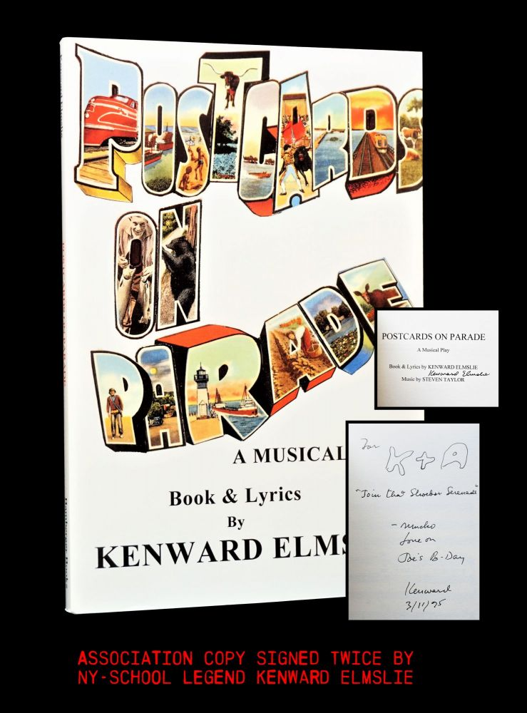 Postcards on Parade: A Musical Play with: Ephemera. Kenward Elmslie