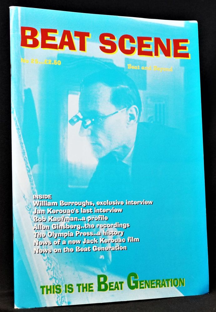 Beat Scene No. 25 (1996). Kevin Ring, Todd Bauer, William S. Burroughs, Allen Ginsberg, Maurice...