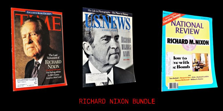 National Review Vol. XXXVII No. 18 (September 20, 1985) with: TIME Vol. 143 No. 18 (May 2, 1994)...
