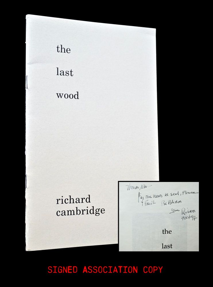 The Last Wood. Richard Cambridge