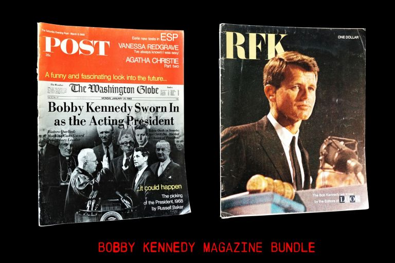 The Saturday Evening Post March 9, 1968 Issue with: LOOK RFK Memorial Issue. Robert F. Kennedy