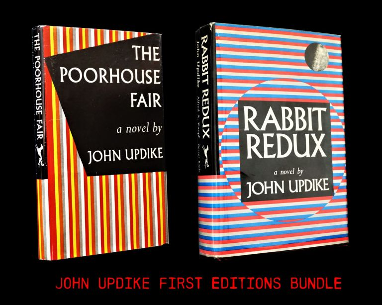The Poorhouse Fair with: Rabbit Redux. John Updike