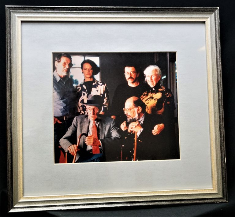 Framed Photograph of William S. Burroughs, Allen Ginsberg & Co. William S. Burroughs, Robert...