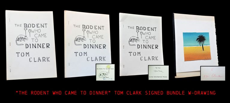The Rodent Who Came to Dinner (Four Editions). Tom Clark