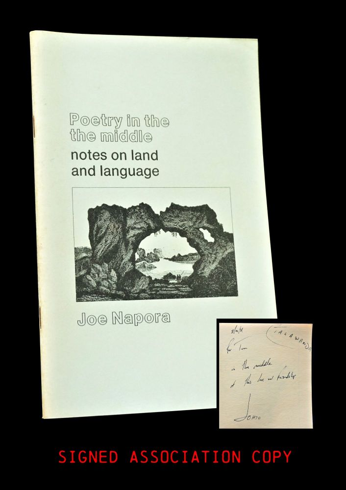 Poetry in the Middle: Notes on Land and Language. Joe Napora.